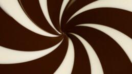 Haigh's Chocolate Spiral Design